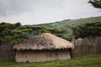 Massai camp in Tanzania