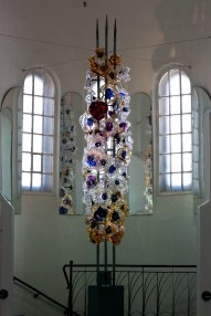 Glass art at Sergiev Posad museum: art of the 18th-20th century
