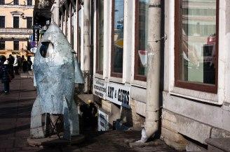Space art in St. Petersburg