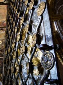 Entrance to monastary at Trinity Sergius Lavra in Sergiev Posad