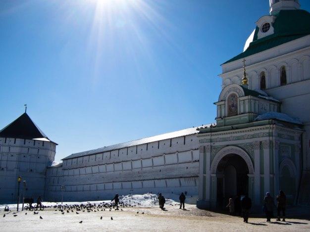 Entrance of Trinity Sergius Lavra in Sergiev Posad