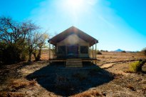 Wilderness Safari's Desert Rhino Camp in Namibia