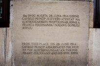 Memorial for Archduke Franz Ferdinand