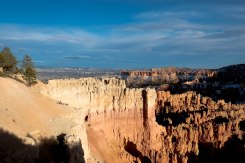 Bryce Canyon is not technically a canyon, that is, it is not carved by flowing water