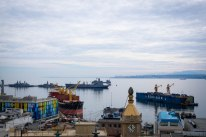 Valparaíso is one of the largest ports in the world and enables round the world sailing trips