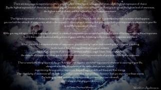-World on Ayahuasca- Highest Expression of Choice