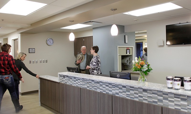 Peek Inside Lawrence Memorial Hospitals Renovated Fourth