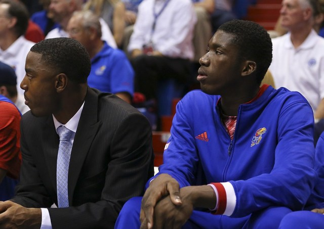 Cheick Diallo watches from the sidelines as the NCAA has yet to make a decision on his legibility.