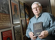 "Grant Goodman, a longtime professor of history at Kansas University who died in 2014, is pictured at his home in Brandon Woods Retirement Community in this 2007 file photo. Goodman contributed a chapter to the book ""Legacies of the Comfort Women of World War II"" about his wartime translation work for the U.S. Army that documented Japanese military brothels. That report is now archived at KU&squot;s Spencer Research Library."