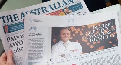 Dr Daniel Donner in The Australian