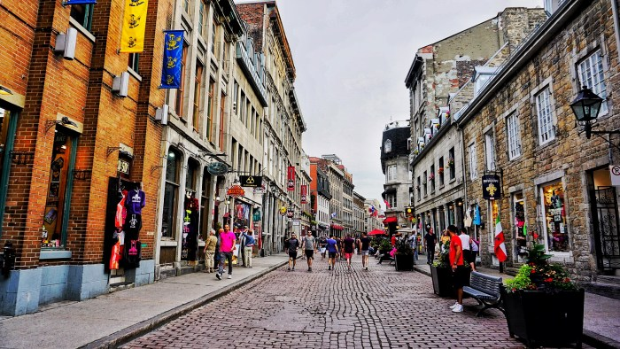 The Old Montreal