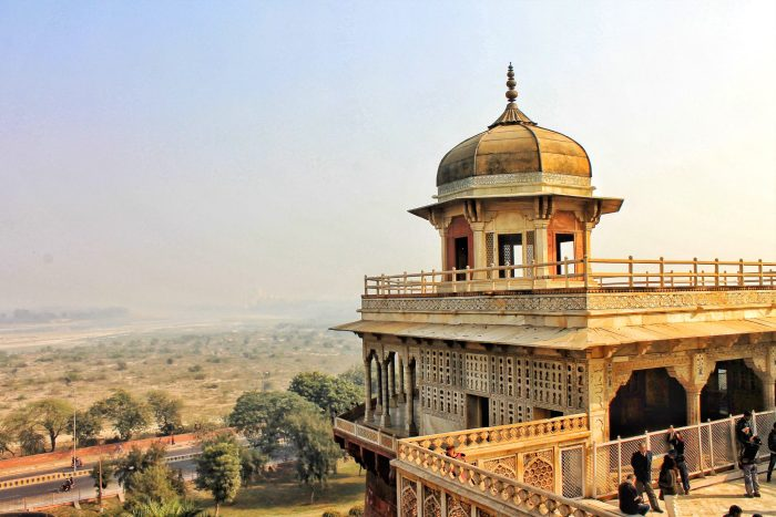 Views from the Agra Fort