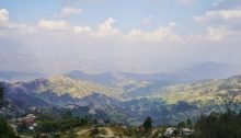 Views of Kathmandu Valley in Nagarkot, Nepal
