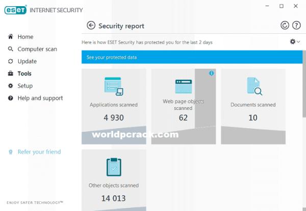 ESET Internet Security 14.0.22.0 Crack Plus License Key 2020 Free Download