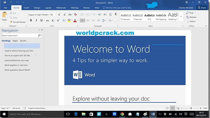 Microsoft Office 2016 Crack With Product Key (100% Working) 2021 Free