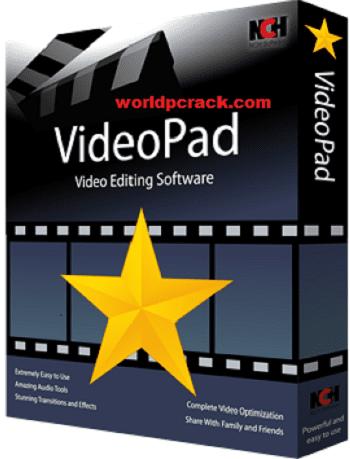 VideoPad Video Editor 10.54 Crack Plus Registration Code 2021 Free