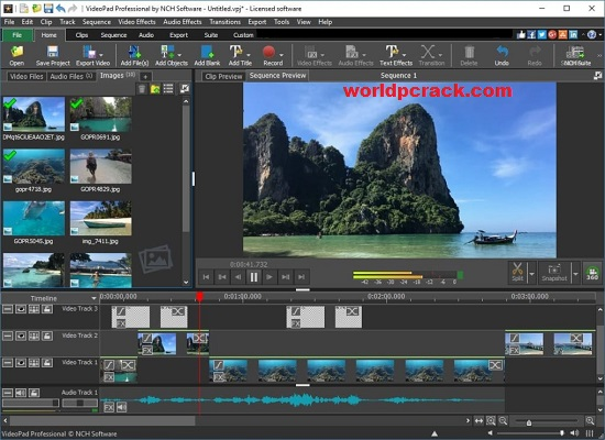 VideoPad Video Editor 10.06 Crack Plus Registration Code 2021 Free