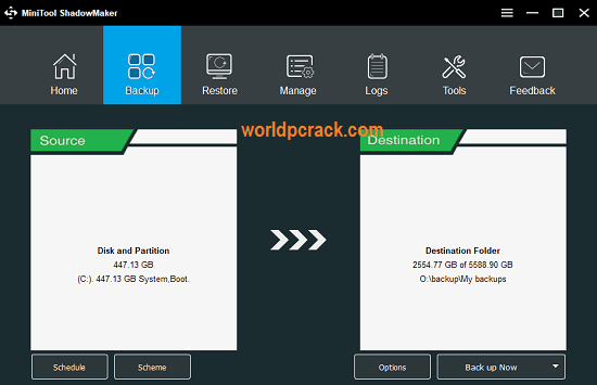 MiniTool ShadowMaker Pro 3.5 Crack With Key 2020 Free Download