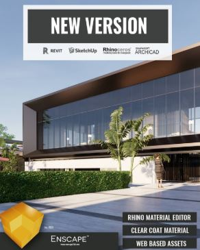 Enscape3D 2 3 2 703 for Revit SketchUp Rhino ArchiCAD Free