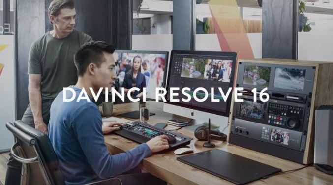Blackmagic DaVinci Resolve Studio 16 free download