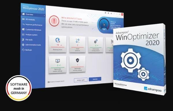 Ashampoo WinOptimizer 18.00.10 Free Download 2020