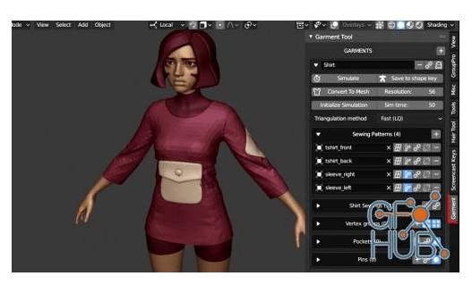 Hair Tool v2.0.14 for Blender 2.8 Free Download
