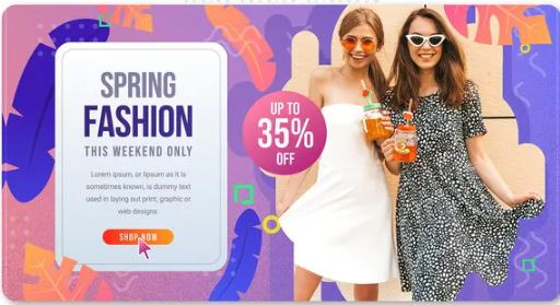 Videohive Spring Fashion Slideshow Free Download