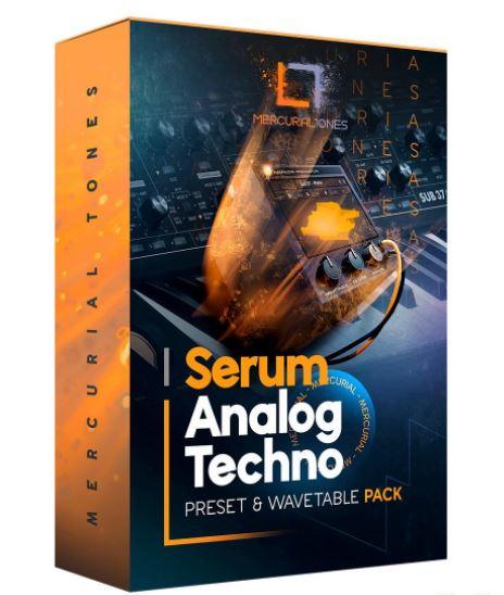 Mercurial Tones Xfer Serum Analog Techno Presets