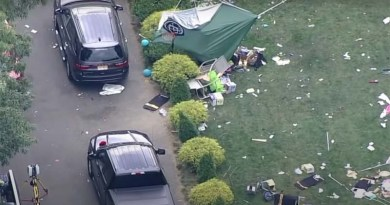 shooting spree at a home party in New Jersey