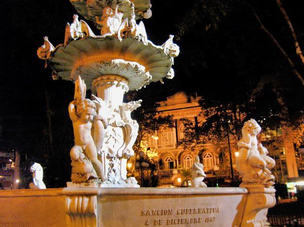 Fountain Montevideo Uruguay