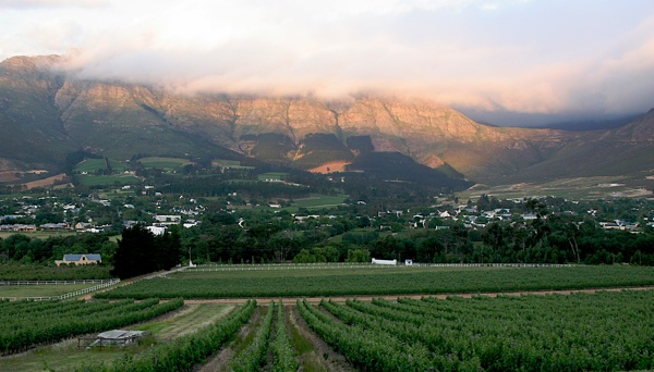 Franshhoek Sundown2