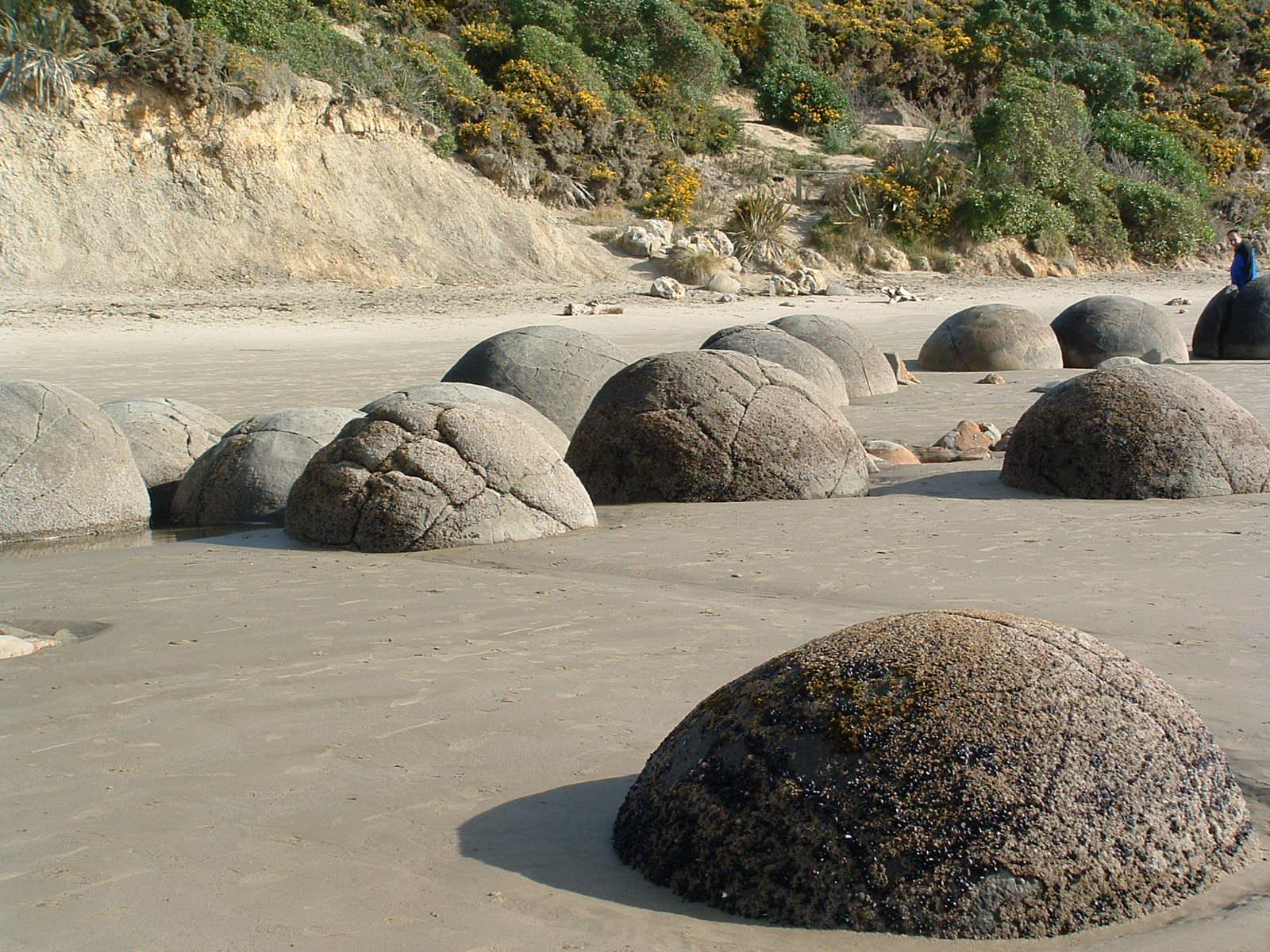Moeraki Boulders aka NEW ZEALAND ROCKS
