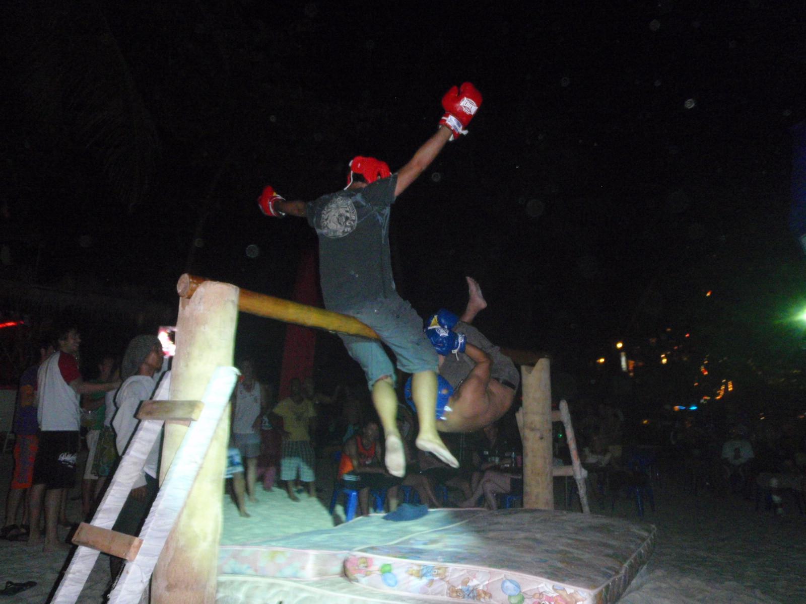 Drunken Beam-Boxing