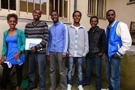 Ethiopian students in uk