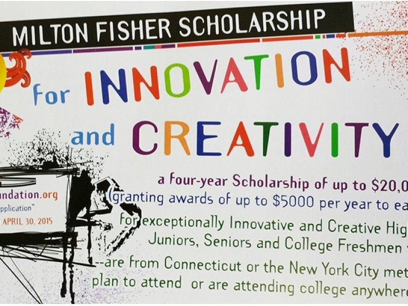 Beca Milton Fisher para Innovación y Creatividad 2021