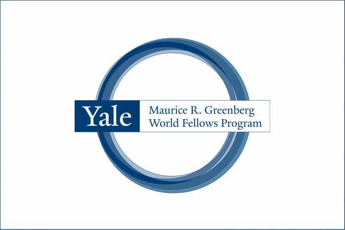 Programa mundial de becas de Yale Greenberg para líderes emergentes de mitad de carrera 2020