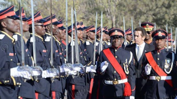 Botswana Defence Force Recruit 2020