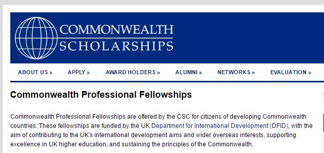 Commonwealth Professional Fellowships 2020 [ACTUALIZADO]