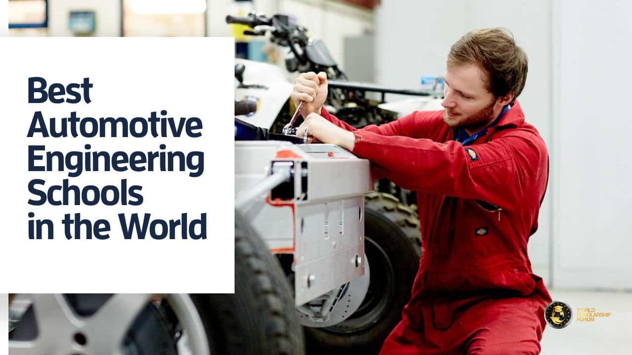 13 Best Automotive Engineering Schools In The World 2020