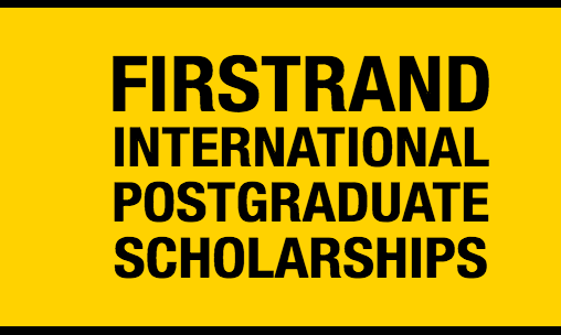 FirstRand International Postgraduate Scholarships 2020 for Young South Africans