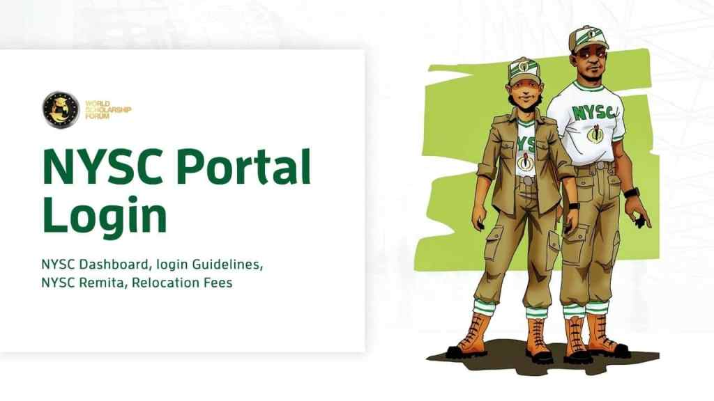 NYSC Portal Login | NYSC Dashboard, Login Guidelines, NYSC Remita
