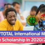 NNPC/TOTAL International Masters Scholarship for NIgerians
