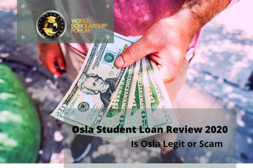 Osla Student Loan Review 2020: is Osla Legit or Scam