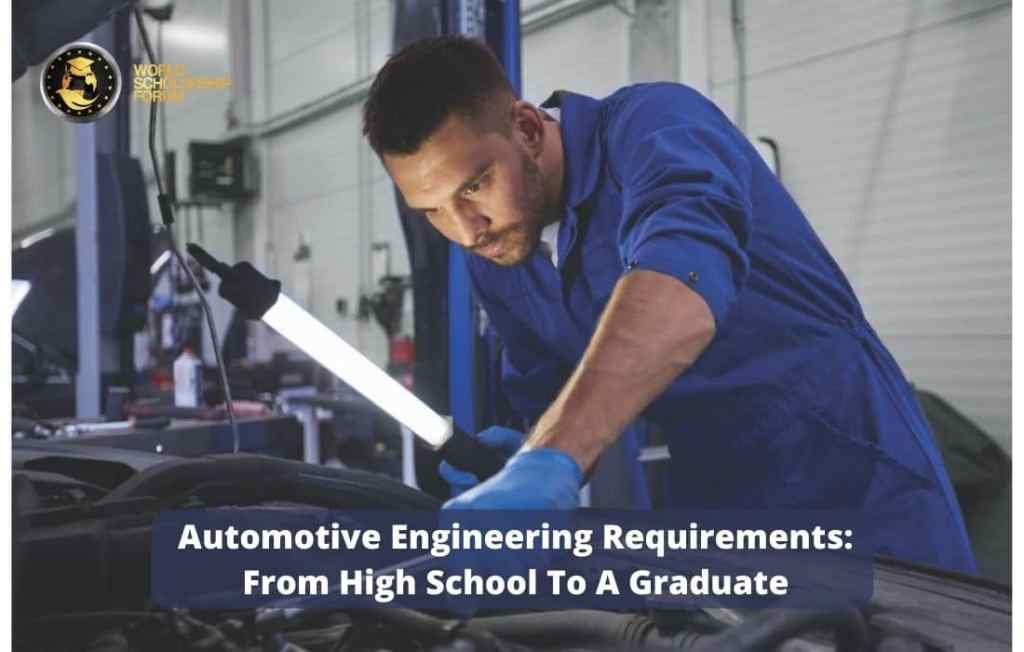 Entry requirements for automotive engineering degree education