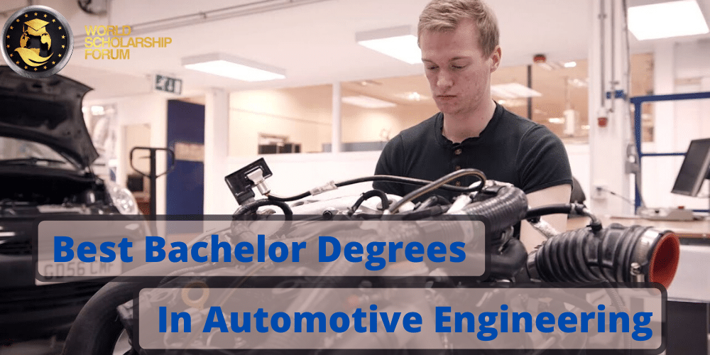 Best Bachelor Degrees In Automotive Engineering