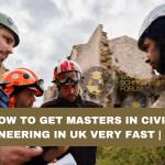 MSc in civil engineering in UK