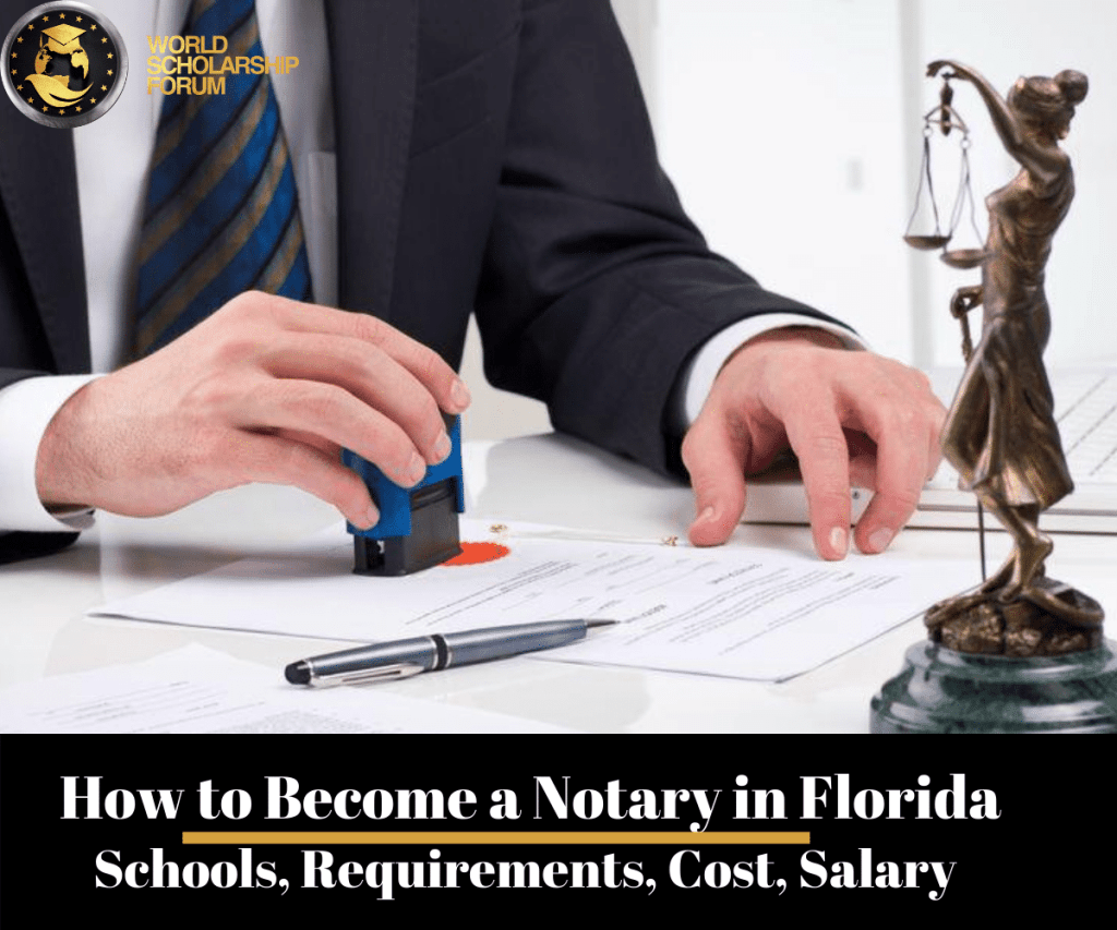 How to Become a Notary in Florida: Schools, Requirements, Cost, Salary