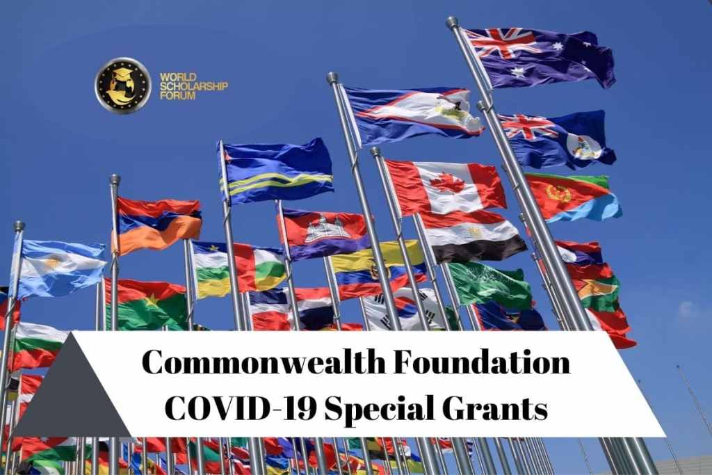 Commonwealth Foundation COVID-19 Special Grants  (up to £30,000 grant) |