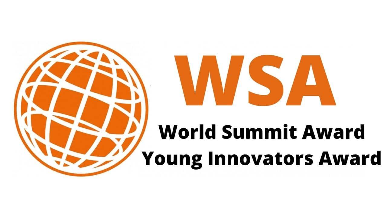 2021 World Summit Award (WSA) Young Innovators Award for Digital Entrepreneurs