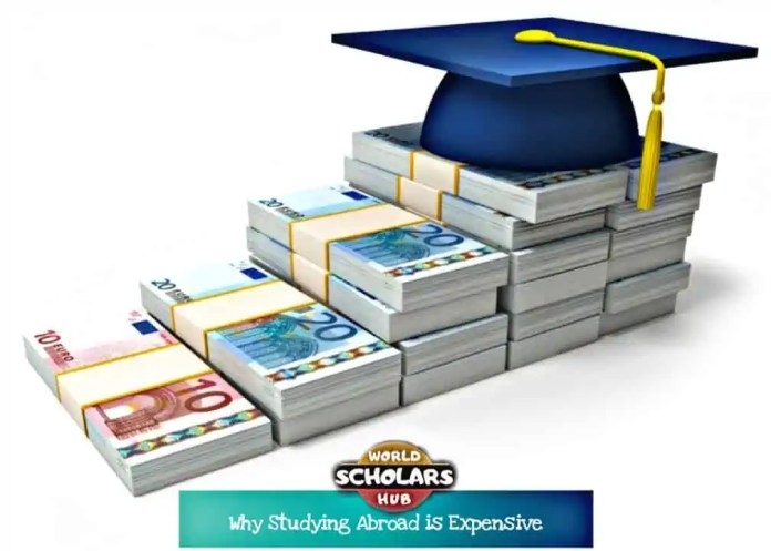 Why Studying Abroad is Expensive